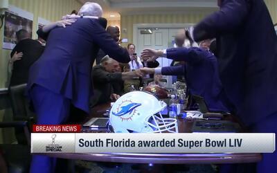 El Sun Life Stadium de Miami ganó la sede del Super Bowl LIV