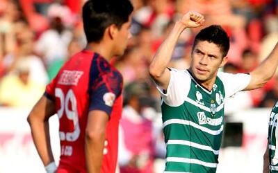 Santos empató 2 - 2 con Veracruz y amarró su pase a la Liguilla