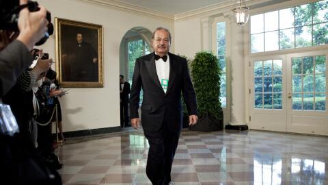 El nuevo libro sobre Carlos Slim revela datos nunca antes conocidos del...