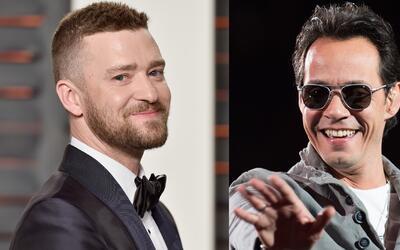 Justin Timberlake está dispuesto a colaborar con Marc Anthony