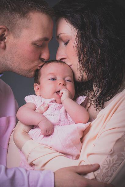 Lucy y su esposo Liam intentaron cuatro veces con inseminación ar...