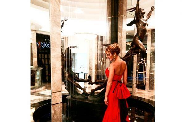 Sin embargo, cuando la hemos visto con vestidos de noche, luce como lo q...