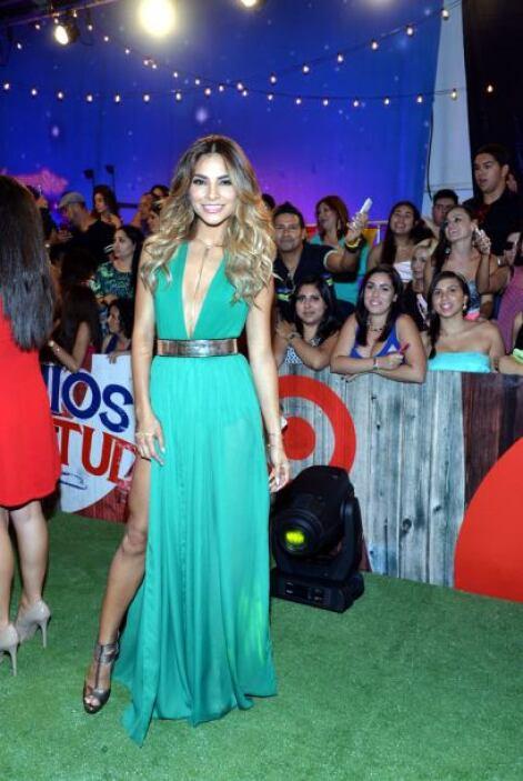 Alejandra Espinoza mejora cada año, por eso fue otra de las bellas que t...