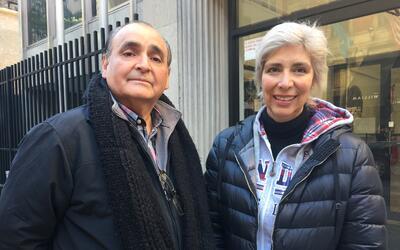 Hugo Méndez Chávez y Julieta Victoria Martínez agra...