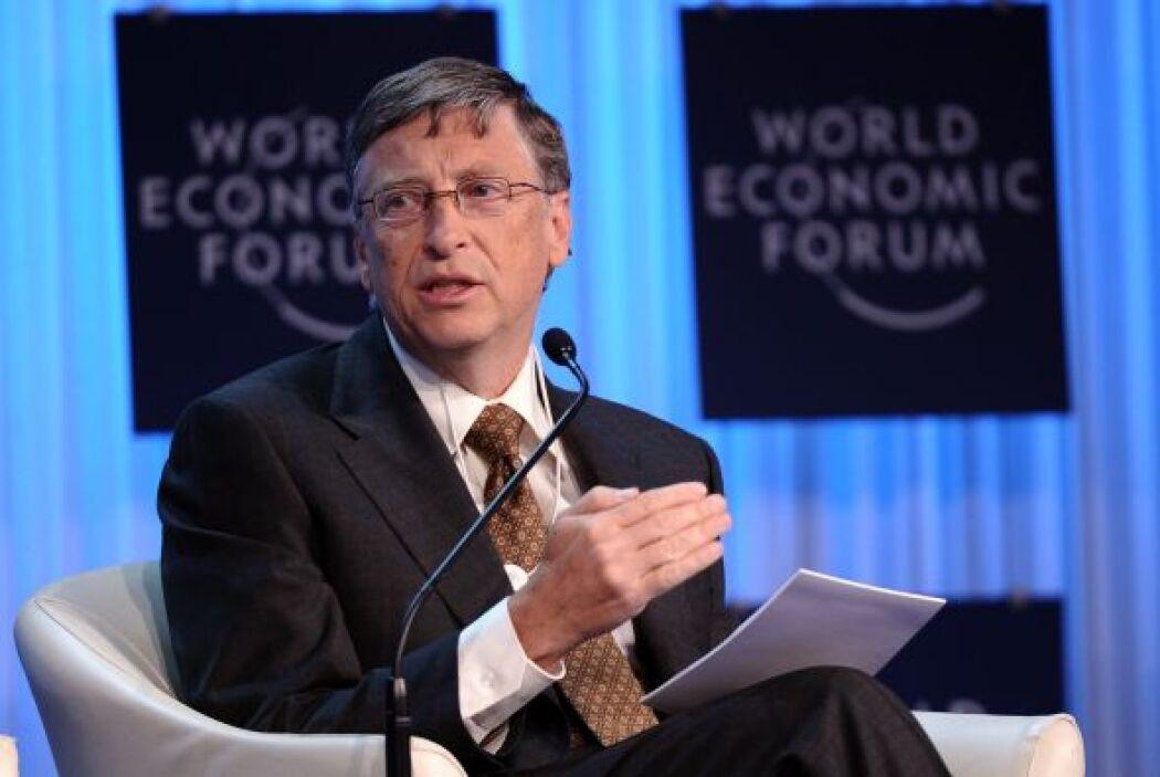 El fundador de Microsoft cuenta con un patrimonio neto de $56 mil millones.