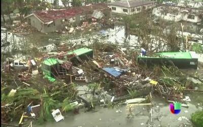 Comparan tifón de Filipinas con la furia de tsunami en 2004