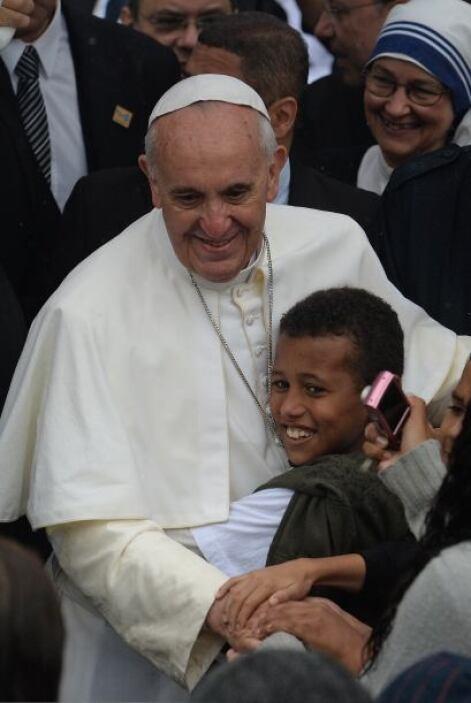 Ésta también fue en Brasil, en la iglesia Sao Jeromino Emiliani durante...