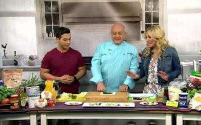 Aprende a cocinar Rajas con Queso y Maiz