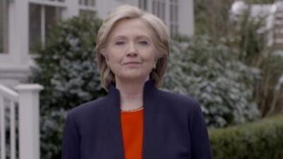 Anuncia Hillary Clinton su candidatura por el Parido Demócrata