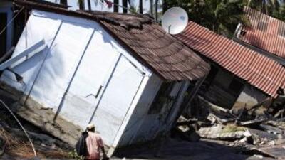 Más de 4,000 personas fueron evacuadas y centenares de viviendas resulta...