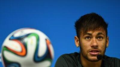 Neymar a unas horas de su estreno mundialista.