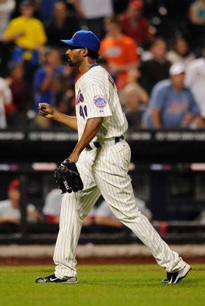 RP. Manny Acosta. Mets de Nueva York.   El panameño permiti...