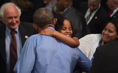 """""""Lo necesitamos para que nos dé esperanza"""", dijo la niña antes de su enc..."""