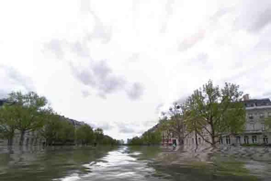 Y entre esas ciudades está la más famosa de Francia, París. Foto tomada...