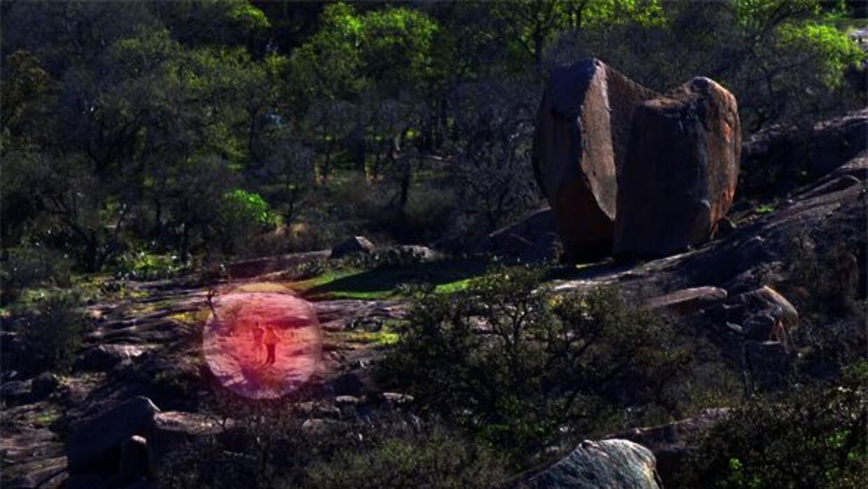 Imagen simulada del video y fotos que captura este radar VADER (Vehicle...