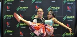 Sonrisas, premios y muchos regalos fueron compartidos entre el talento y...