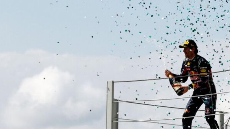 Mark Webber se llevó la victoria en el GP de Brasil, última carrera del...
