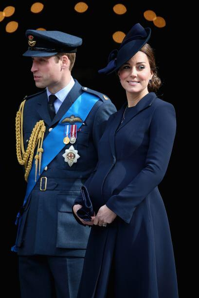 La Duquesa tiene ocho meses de embarazo.