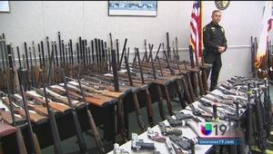 Histórico decomiso de armas