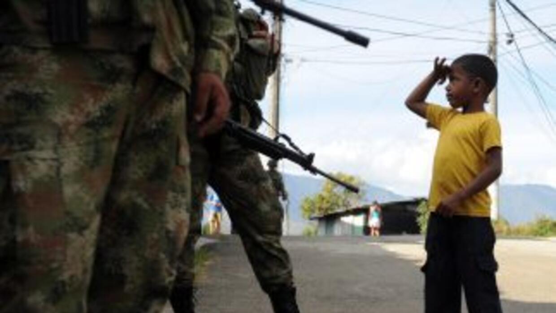 De acuerdo con la ONU, los ejércitos que reclutaron niños son los de Afg...
