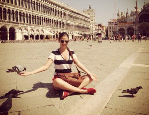 """Venecia"", compartió Ana Patricia González. (Ago..."