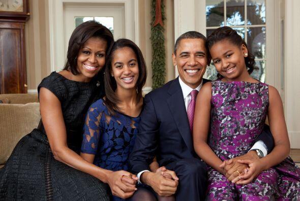 En diciembre de 2011 Michelle Obama escogió este sofá de la Oficina Oval...