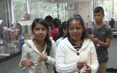 Gobierno de México y Estados Unidos trabajan para entregarle a menores i...