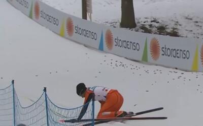 Un venezolano, calificado como el peor esquiador de la historia
