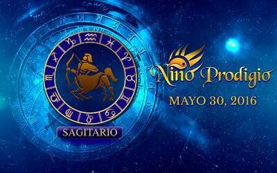 Niño Prodigio - Sagitario 30 de mayo, 2016