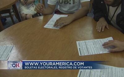 Se acerca el límite de registro para votar