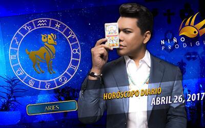 Niño Prodigio - Aries 26 de abril 2017