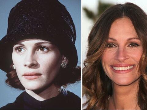 """La """"mujer bonita"""" de Hollywood no siempre se ha visto igual, t..."""