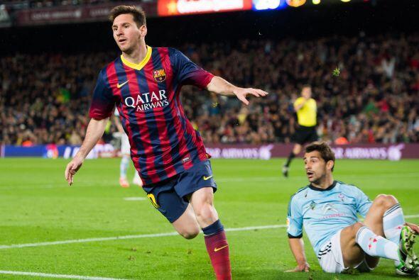 Para calmar el ambiente, el argentino Lionel Messi ampliaría la diferenc...