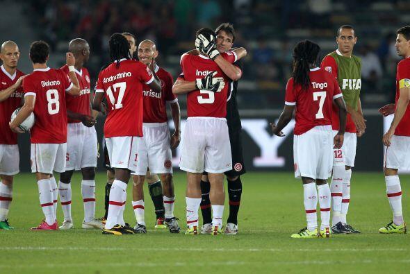 El Inter de Porto Alegre quedó tercero y se despidió del torneo con una...