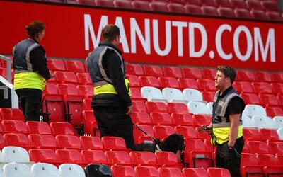 Amenaza estadio Old Trafford