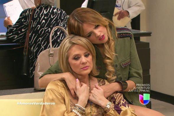 Nikki y Victoria sufrieron por el estado de salud de Liliana.