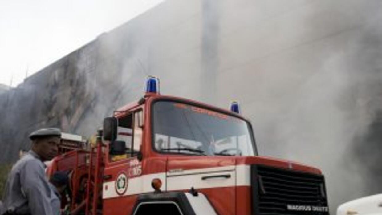 Seis de los 32 heridos registrados la semana pasada en un incendio en un...