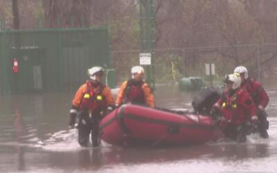 Los estragos que dejó la tormenta en Wilmington