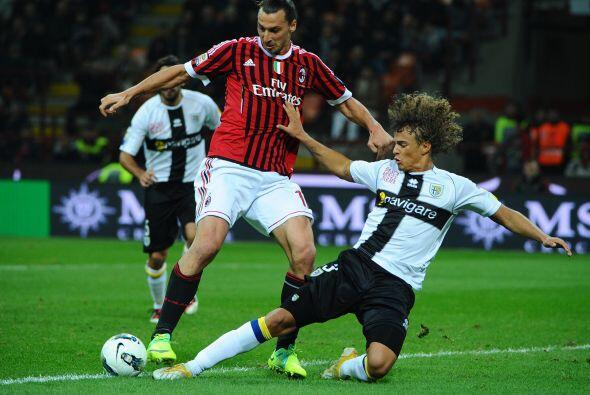 Los 'rossoneri' buscaban asegurar los tres puntos para acercarse a la pa...