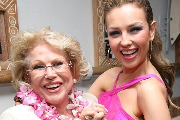 El 27 de mayo de 2011 Thalía sufrió la muerte de su mam&aa...