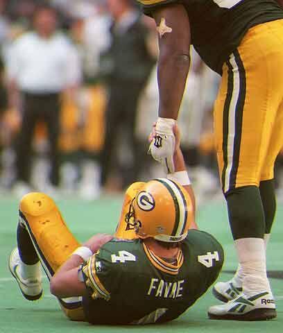 """Duro aprendizajeDesde que Favre llegó, los """"""""cabezas de queso"""""""" ligaron..."""