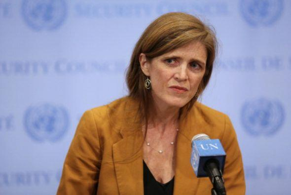 63.- SAMANTHA POWER. Es la embajadora de EEUU ante las Naciones Unidas....