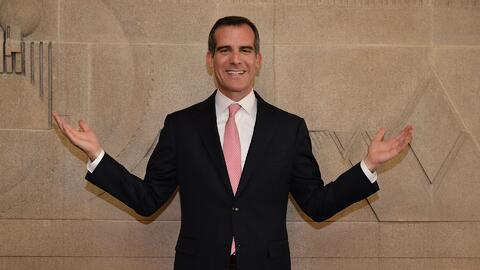 El alcalde de Los Ángeles entregó su informe sobre el estado de la ciudad