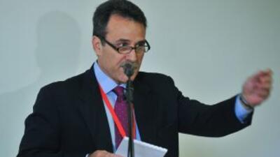 Gustavo Machín, funcionario del Ministerio de Relaciones Exteriores cuba...
