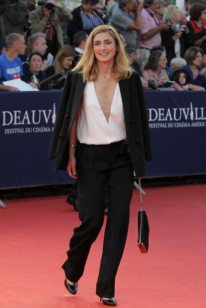 La actriz francesa Julie Gayet logró entrar dentro de los primero...
