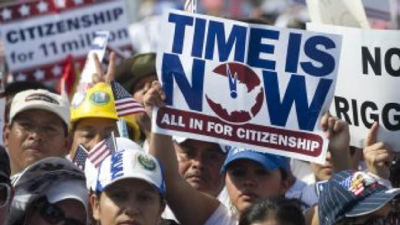 La demora en el debate de la reforma migratoria en el Congreso obligó al...