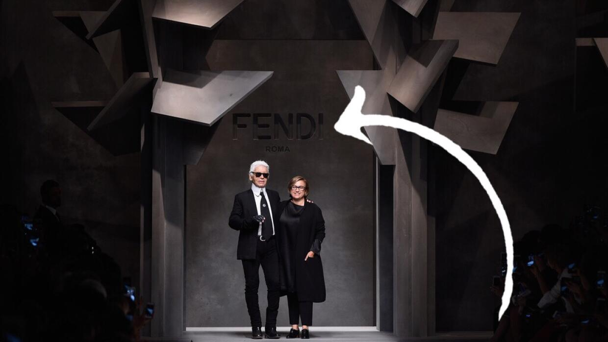 Karl Lagerfeld Fendi - Runway - Milan Fashion Week SS16