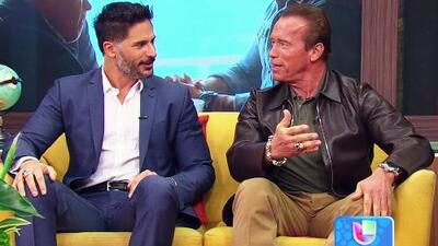 Arnold Schwarzenegger y Joe Manganiello en 'Sabotage'