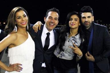 Lourdes, Carlos, Jomari y Jessica hicieron su primer viaje juntos a Méxi...