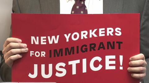 Coalición de inmigración en Nueva York tuvo un rotundo rechazo al veto m...